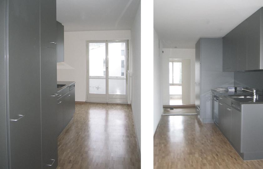 Wohnungserneuerung MFH Alte Landstrasse