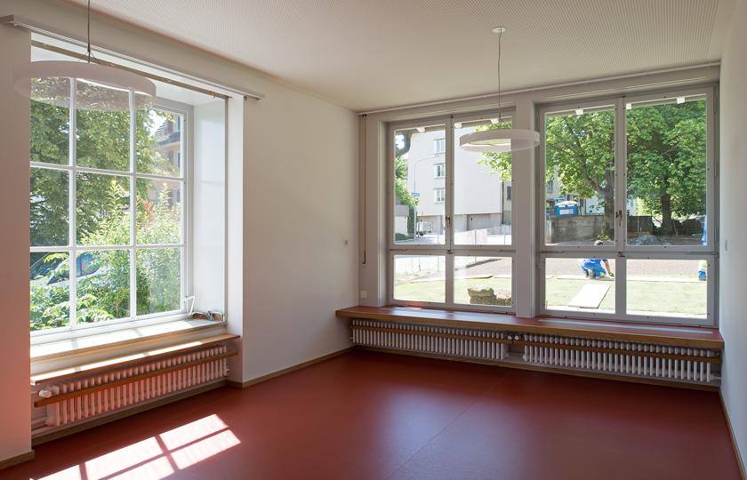 Kinderhaus Oerlikon: Ruheraum Nebentrakt (EG)