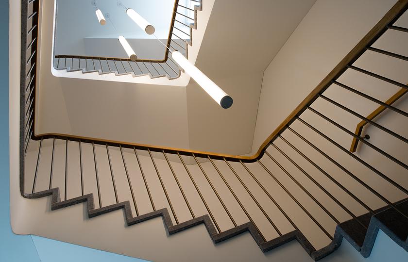 Kinderhaus Oerlikon: neues Treppenhaus