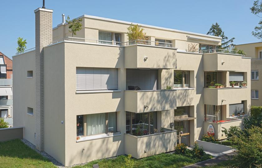 MFH Schützenrain: Fassade