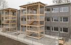 Schulraumprovisorium Falletsche: Nordfassade / Treppentürme