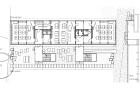 Schulraumprovisorium Falletsche: Grundriss / Umgebung